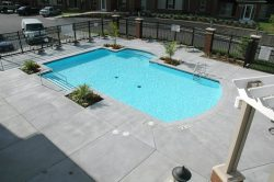 apartment pool
